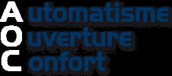 Logo transparent Automatismes Ouvertures Confort